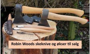 knive og økser
